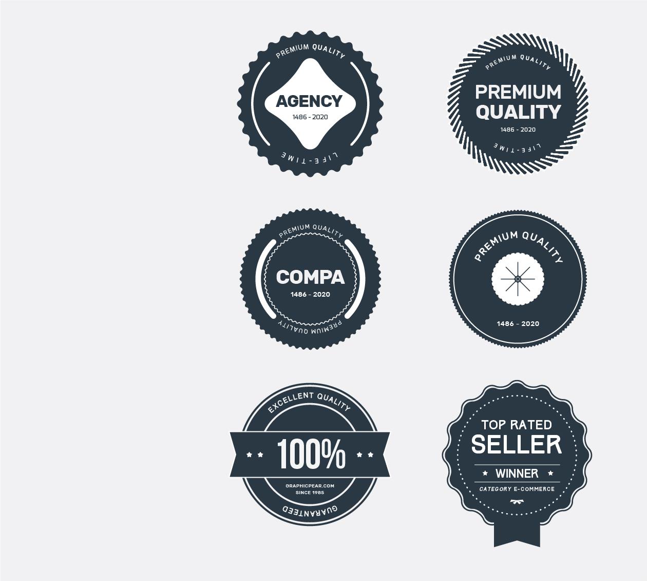 company badges