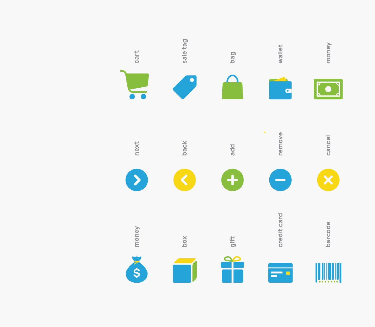 Branded E-commerce Icons