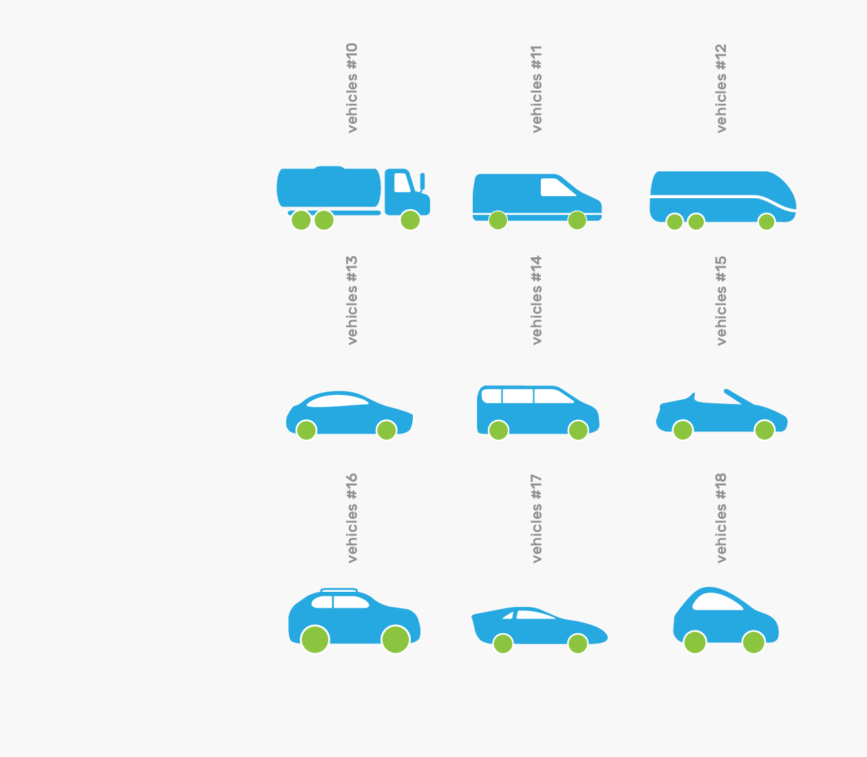 Branded Icons - Vehicles Cars