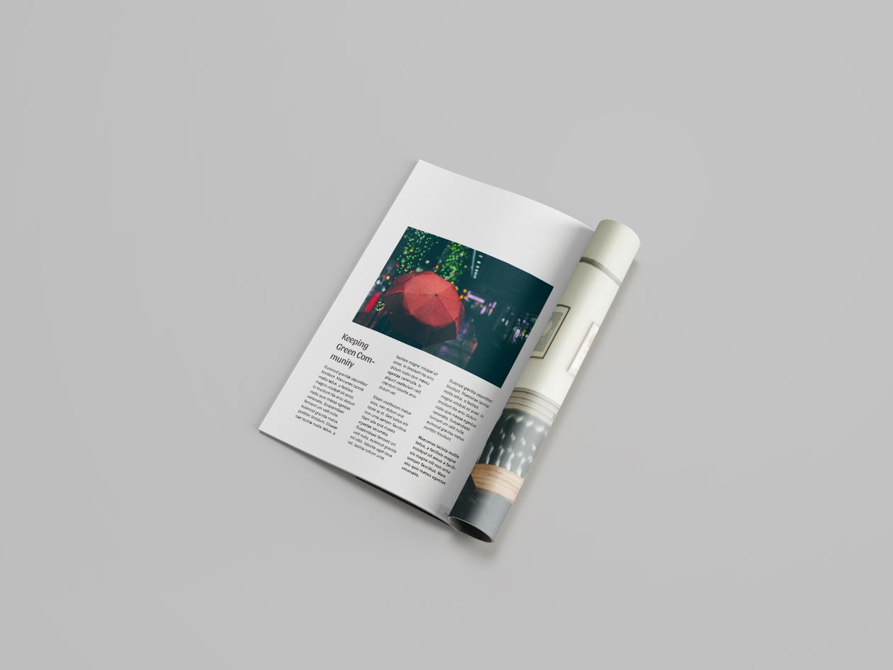 Premium Magazine Mockup