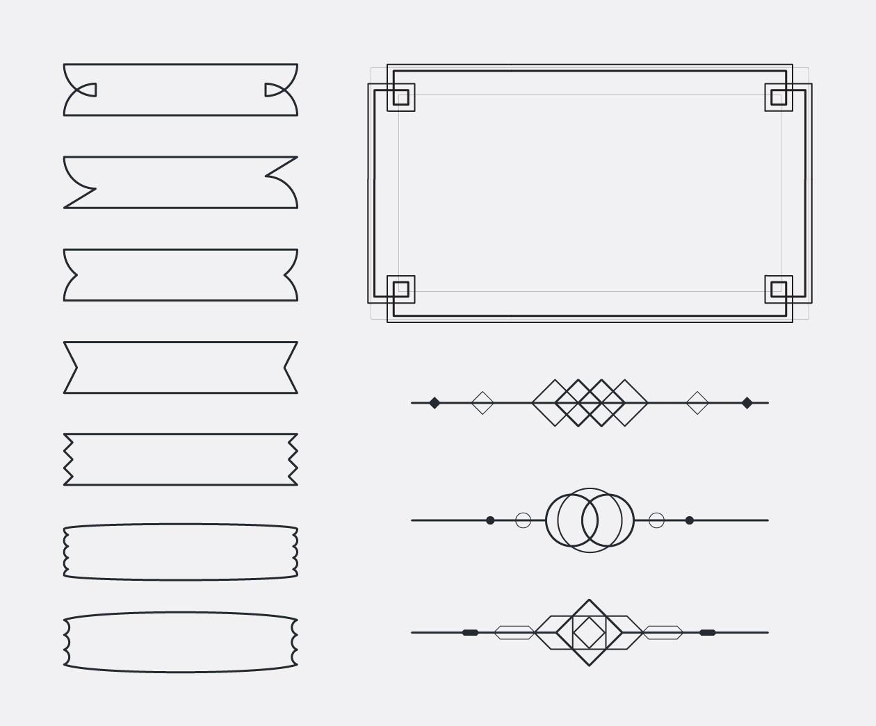 Ribbons & Patterns