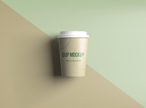 Smart Realistic Coffee Cup Mockup