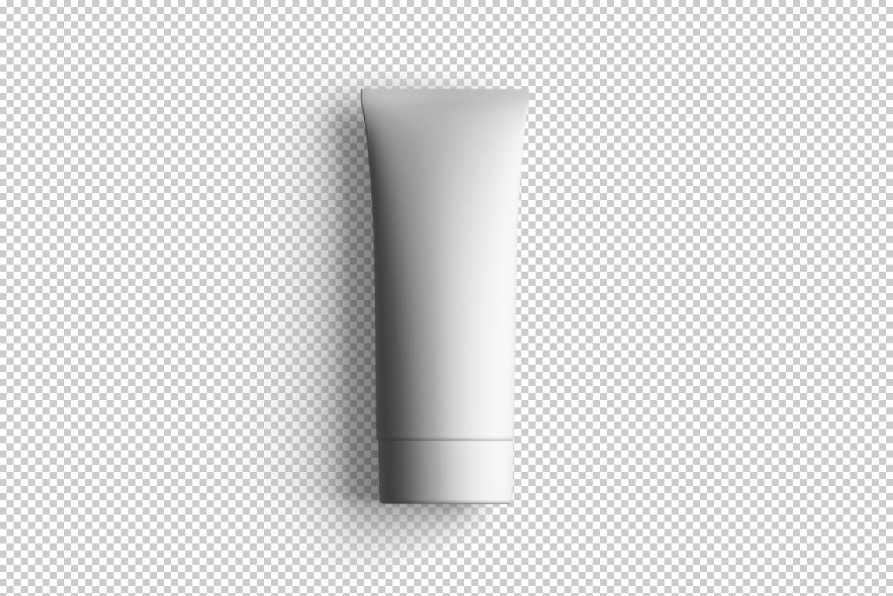 Blank Tube Mockup
