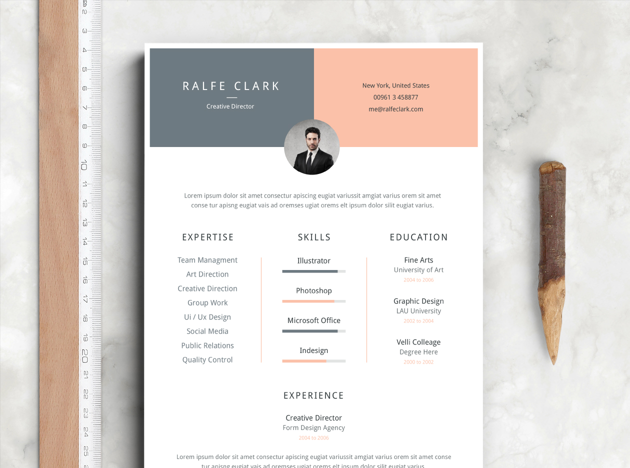 Download Resume Template  Download A Resume Template
