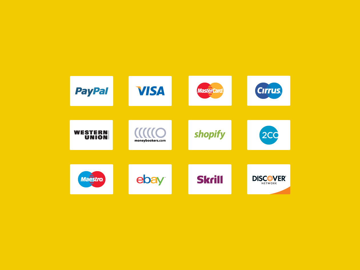 Payment - Credit Card Icons
