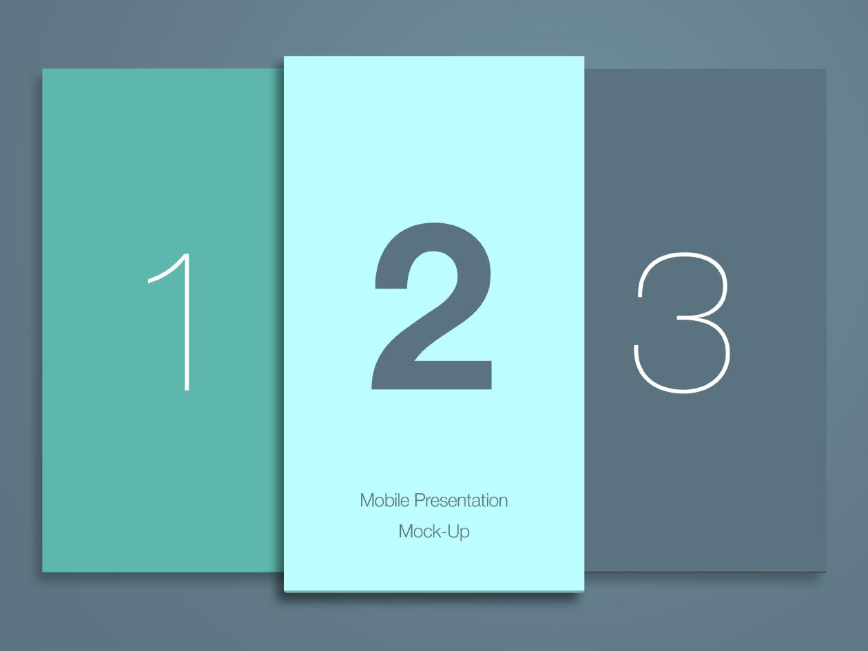 Mobile Presentation Mockup