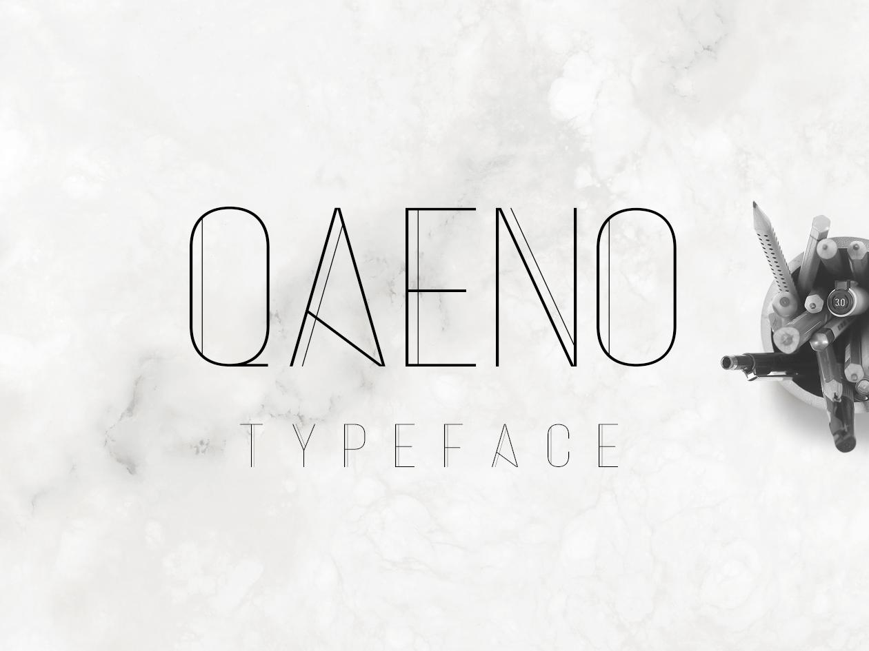 Qaeno Font