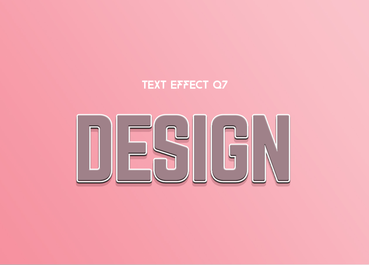 Design Text Effect