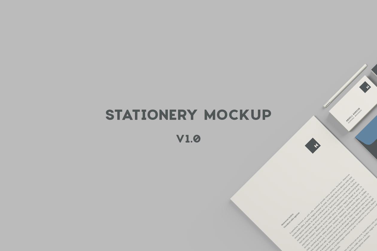 Stationery Mockup
