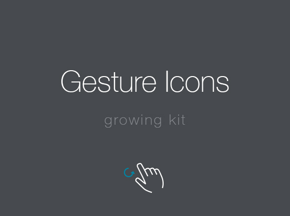 Gesture Icons Pack
